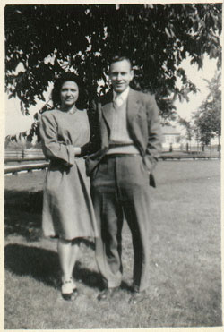 Evelyn and William Sanders